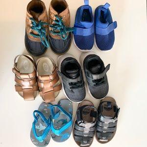 Boys Toddler size 5 shoe bundle